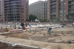 Water Park Towers Pool Renovation in Process